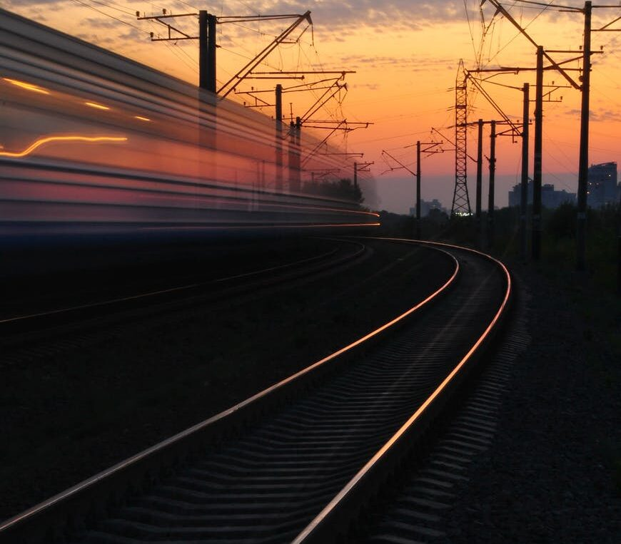 sunset-train-road-163856